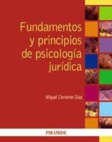 Inmaswan.es Fundamentos Y Principios De Psicologia Juridica Image