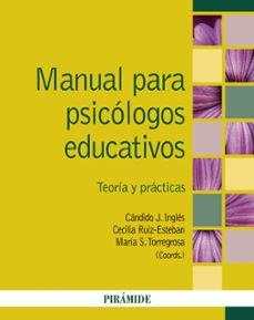 Lofficielhommes.es Manual Para Psicologos Educativos: Teoria Y Practicas Image