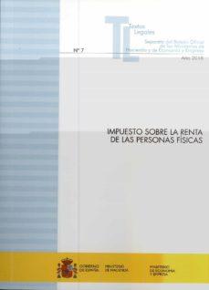 Descargar IMPUESTO SOBRE LA RENTA DE LAS PERSONAS FISICAS gratis pdf - leer online