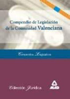Chapultepecuno.mx Compendio De Legislacion De La Comunidad Valenciana Image