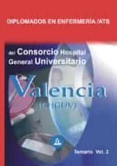 Colorroad.es Diplomados En Enfermeria/ats Del Consorcio Hospital General Unive Rsitario De Valencia. Temario Vol. Iii Image