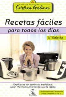 (pe) recetas faciles para todos los dias (3ª ed.)-cristina galiano-9788467022551