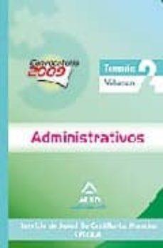 Geekmag.es Administrativos Del Servicio De Salud De Castilla-la Mancha (Sesc Am): Temario Volumen Ii Image
