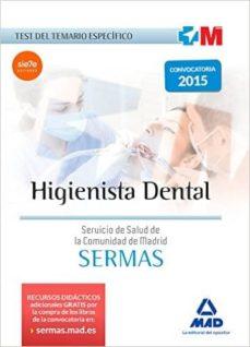 higienista dental del servicio de salud de la comunidad de madrid : test temario especifico-9788467674651
