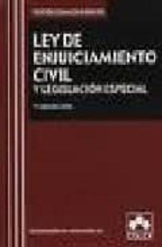 Costosdelaimpunidad.mx Ley De Enjuiciamiento Civil Y Legislación Especial 7ª Ed 2008 Image