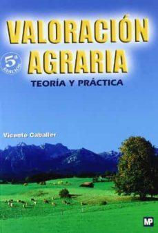 valoracion agraria (5ª ed.)-9788484763451