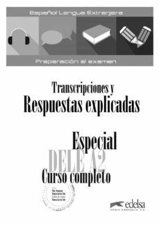 Leer libros descargados en kindle ESPECIAL DELE A2 CURSO COMPLETO (Spanish Edition) de MONICA GARCIA-VIÑO SANCHEZ CHM PDF PDB 9788490816851