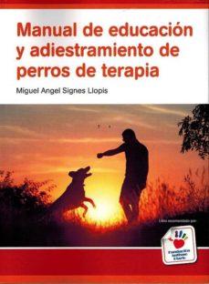 Inciertagloria.es Manual De Educacion Y Adiestramiento De Perros De Terapia Image