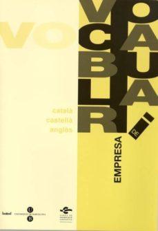 Elmonolitodigital.es Vocabulari De Empresa (Ed. Trilingue) Image