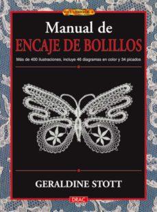 Audiolibros gratis para descargar gratis MANUAL DE ENCAJE DE BOLILLOS in Spanish de GERALDINE STOTT 9788496777651 iBook