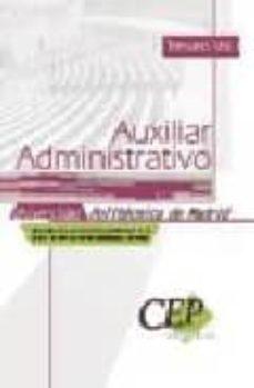 Inmaswan.es Temario Vol. I. Oposiciones Auxiliar Administrativo Universidad Politecnica De Madrid Image