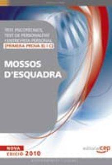 Lofficielhommes.es Test Psicotecnics, Test De Personalitat I Entrevista Personal Per A Mossos D Esquadra (Primera Prova B) I C) Image