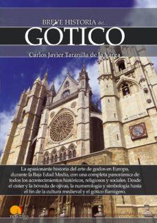 breve historia del gotico-carlos javier taranilla-9788499678351