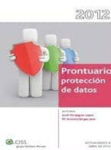 Descargando libros de google books PRONTUARIO DE SEGURIDAD Y SALUD LABORAL EN LA CONSTRUCCION (INCLU YE CD) de CESAR TOLOSA TRIBIÑO en español