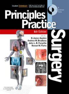 Descargar pdf gratis ebooks descargar PRINCIPLES AND PRACTICE OF SURGERY, WITH STUDENT CONSULT ONLINE A CCESS (6TH ED.)