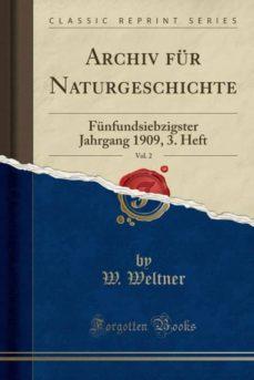 archiv f�r naturgeschichte, vol. 2-9781332714261