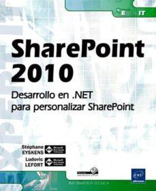 Upgrade6a.es Sharepoint 2010: Desarrollo En .Net Para Personalizar Sharepoint Image