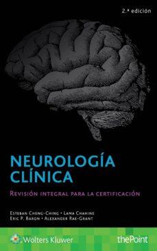 Ebooks portugues portugal descargar NEUROLOGÍA CLÍNICA (2ª EDICION) en español PDF de ESTEBAN CHENG-CHING 9788417033361