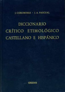 y-z, indices: diccionario critico etimologico castellano e hispan ico (t. 6)-joan coromines-jose antonio pascual-9788424914561