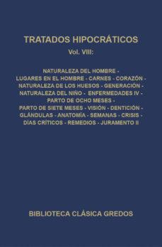 Ebook para descargar gratis estructura de datos TRATADOS HIPOCRATICOS VIII de HIPOCRATES (Literatura española)