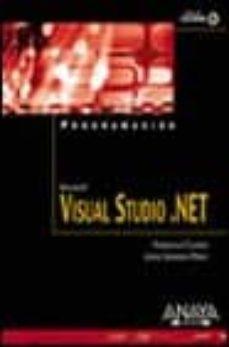 Javiercoterillo.es Programacion Microsoft Visual Studio.net (Incluye Cd) Image
