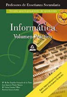 Inmaswan.es Profesores De Enseñanza Secundaria: Informatica (Vol. Practico) Image