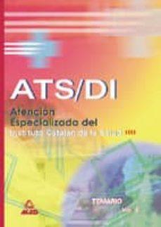Permacultivo.es Ats-di Atencion Especializada Instituto Catalan De La Salud: Tema Rio (Vol. Ii) Image