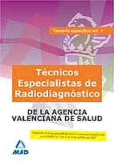 Chapultepecuno.mx Tecnicos Especialistas De Radiodiagnostico De La Agencia Valencia Na De La Salud Image