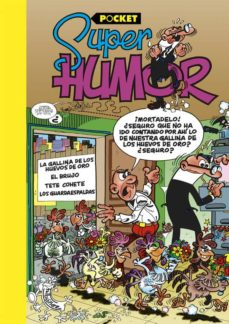 super humor mortadelo y filemon: la gallina de los huevos de oro vi. pocket-francisco ibañez talavera-9788466656061