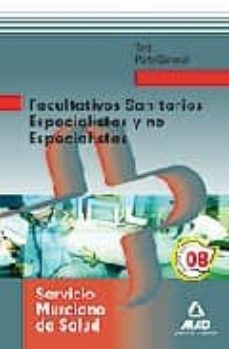 Eldeportedealbacete.es Facultativos Especialistas Sanitarios Y No Especialistas Del Serv Icio Murciano De Salud. Test Parte General Image