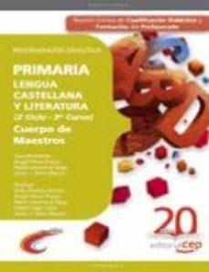 Eldeportedealbacete.es Cuerpo De Maestros.Primaria. Lengua Castellana Y Literatura (2º Ciclo - 3º Curso). Programacion Didactica Image