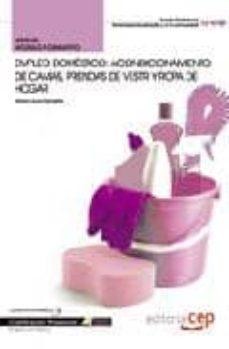 Relaismarechiaro.it Manual Empleo Domestico: Acondicionamiento De Camas, Prendas De V Estir Y Ropa De Hogar. Cualificaciones Profesionales Image