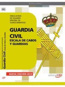 Debatecd.mx Guardia Civil Escala De Cabos Y Guardias. Simulacros De Examen (P Rueba De Conocimientos) Image