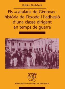 Chapultepecuno.mx Els Catalans De Genova: Historia De L Exode I L Adhesio D Una Cla Sse Dirigent En Temps De Guerra Image