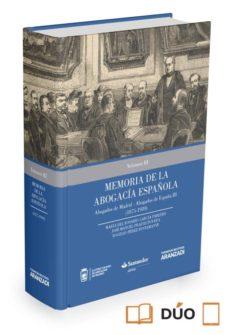 memoria de la abogacía española-maria del rosario garcia paredes-9788490984161