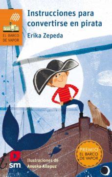 instrucciones para convertirse en pirata-erika zepeda-9788491075561