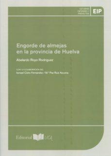 engorde de almejas en la provincia de huelva-abelardo royo rodriguez-9788498285161