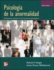 Javiercoterillo.es Psicologia De La Anormalidad (5ª Ed.) Image