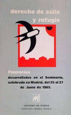 Javiercoterillo.es Derecho De Asilo Y Refugio. Ponencias Image
