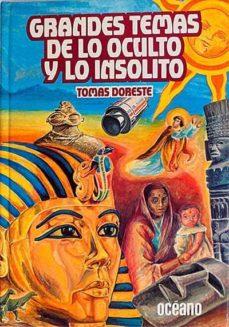 GRANDES TEMAS DE LO OCULTO Y LO INSÓLITO. 1 - VVAA | Triangledh.org