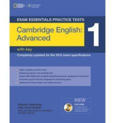 Descargar audiolibros en español gratis EXAM ESSENTIALS: CAMBRIDGE ADVANCED PRACTICE TESTS 1 W/KEY + DVD-ROM in Spanish