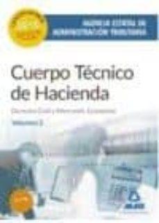 Yumara.it Cuerpo Tecnico De Hacienda: Agencia Estatal De Administracion Tributaria. Derecho Civil Y Mercantil: Economia Volumen 2 Image