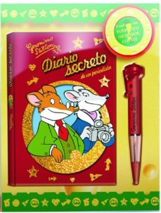 Encuentroelemadrid.es Diario Secreto De Geronimo Stilton (Caja Con Boligrafo Grabador) Image