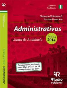 Emprende2020.es Administrativos De La Junta De Andalucía. Temario Volumen 3. Image