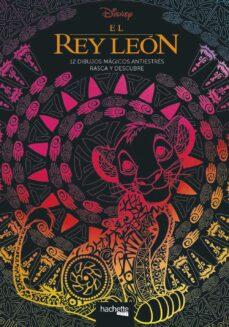 Descarga gratuita de libro en inglés con audio. EL REY LEÓN. 12 DIBUJOS MÁGICOS: RASCA Y DESCUBRE