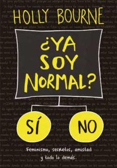 ¿ya soy normal?-9788424658571