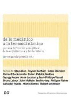 Scintillaemattone.it De Lo Mecanico A Lo Termodinamico: Por Una Definicion De La Arqui Tectura Y Del Territorio Image