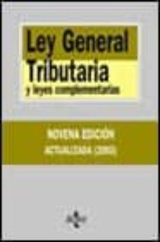 Cdaea.es Ley General Tributaria Y Leyes Complementarias (9ª Ed. Act.) Image
