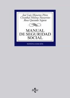Costosdelaimpunidad.mx Manual De Seguridad Social (9ª Ed.) Image