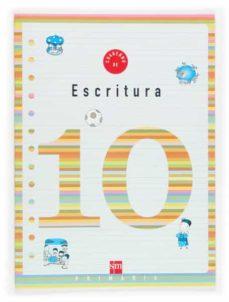 cuaderno de escritura 10 (4º educacion primaria)-9788434899971